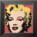 Marilyn, c.1967 (on red ground) Plakater af Andy Warhol