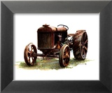 Early Model Fordson Tractor Prints by Sharon Pedersen
