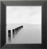 Lago Michigan por la mañana, Chicago, 2001 Láminas por Michael Kenna