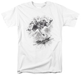 The Dark Knight Rises - Penciled Knight Shirt