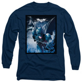 Long Sleeve: The Dark Knight Rises - Swing into Action T-shirts