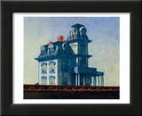 House by the Railroad, 1925 Posters par Edward Hopper