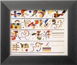 Succession, c.1935 Posters av Wassily Kandinsky
