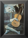 The Old Guitarist, c.1903 Prints by Pablo Picasso