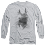 Long Sleeve: The Dark Knight Rises - Bat Head T-Shirt