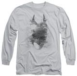 Long Sleeve: The Dark Knight Rises - Bat Head T-Shirt