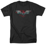 The Dark Knight Rises - Split & Crack Logo Shirts