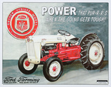 Ford Farming Jubilee Tractor - Metal Tabela