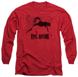 Long Sleeve: The Dark Knight Rises - Evil Rising T-Shirt
