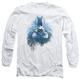 Long Sleeve: The Dark Knight Rises - Spray Bat T-shirts