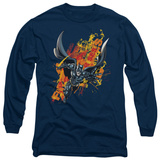 Long Sleeve: The Dark Knight Rises - The Fire Rises Shirts