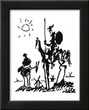 Don Quichotte Affiche par Pablo Picasso