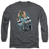 Long Sleeve: The Dark Knight Rises - Bane vs Batman T-Shirt