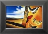 Salvador Dalí - Krajina smotýly (Landscape with Butterflies) Obrazy