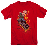The Dark Knight Rises - Bane on Fire T-shirts