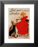 Lait stérilisé Posters par Théophile Alexandre Steinlen