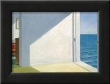 Chambres au bord de la mer, 1951 Poster par Edward Hopper