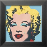Marilyn, c.1967 (on blue ground) Posters par Andy Warhol
