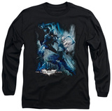 Long Sleeve: The Dark Knight Rises - Showdown T-shirts
