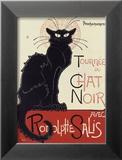 Tournée du Chat Noir, ca. 1896 Posters av Théophile Alexandre Steinlen