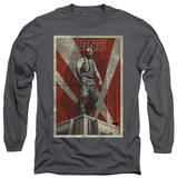 Long Sleeve: The Dark Knight Rises - Bane Rooftop Poster T-shirts