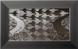 Jour et nuit Poster par M. C. Escher