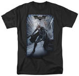 The Dark Knight Rises - Crumbled Poster T-shirts