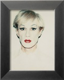 Self-Portrait in Drag, c.1981 (short hair) Posters by Andy Warhol