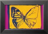 Vanishing Animals: Butterfly, c.1986 (Yellow on Purple) Affiche par Andy Warhol