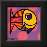 Striped Fish Pósters por Romero Britto
