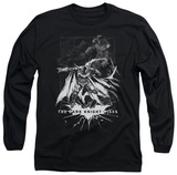Long Sleeve: The Dark Knight Rises - Rising Sketch Shirts