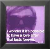 Love Affair Posters by Andy Warhol