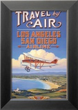 Travel by Air Posters av Kerne Erickson