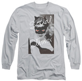 Long Sleeve: The Dark Knight Rises - Social Climber T-Shirt