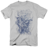 The Dark Knight Rises - Batman Character Study T-shirts