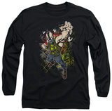 Long Sleeve: The Dark Knight Rises - Bane Will Crush T-shirts