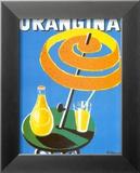 Orangina Prints by Bernard Villemot