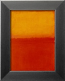 Orange and Yellow Art by Mark Rothko