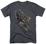 The Dark Knight Rises - Attack T-shirts