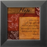 Words to Live By, Hope Plakater af Debbie DeWitt