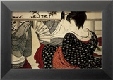 The Lovers Sztuka autor Kitagawa Utamaro