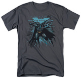 The Dark Knight Rises - Blue Crackle T-shirts
