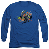 Long Sleeve: The Dark Knight Rises - Back in the Game T-Shirt