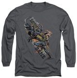 Long Sleeve: The Dark Knight Rises - Attack Shirts
