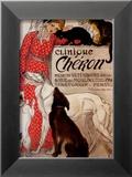Cheron-klinikken, c. 1905, på fransk Poster av Théophile Alexandre Steinlen