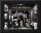 Willy Ronis - Café de France - Reprodüksiyon