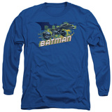 Long Sleeve: The Dark Knight Rises - Wheels on Fire T-shirts