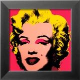 Andy Warhol - Marilyn Monroe, 1967 (hot pink) Obrazy