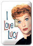 I Love Lucy - Face Light Switch Plate Light Switch Plate