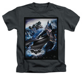 Youth: The Dark Knight Rises - The Batwing Rises T-shirts